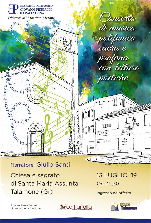 Concerto corale alla Chiesa di Santa Maria Assunta a Talamone