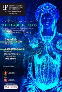 """Concerto polifonico """"Ineffabilis Deus"""" alla Cattedrale di San Lorenzo a Grosseto @ Grosseto, Cattedrale di San Lorenzo"""