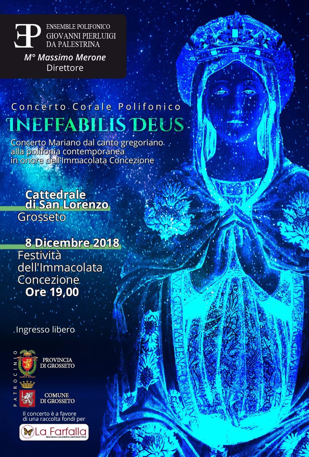 "Concerto corale polifonico ""Ineffabilis Deus"""