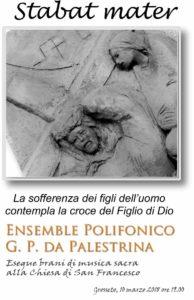 Ensemble Polifonico Palestrina canta Stabat Mater @ Chiesa di San Francesco | Grosseto | Toscana | Italia